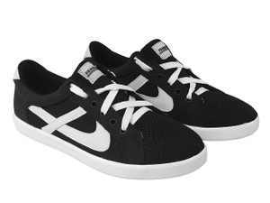 Panam - Black and Urban White Low Top Unisex Sneaker