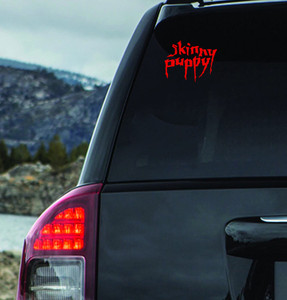 "Skinny Puppy Logo 6x4.5"" Vinyl Cut Sticker"