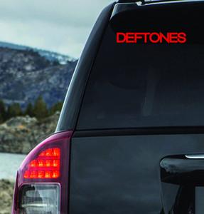 "Deftones Logo 7x1.5"" Vinyl Cut Sticker"