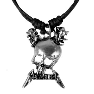 Metallica - Damage Inc Skull Necklace
