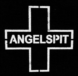 "Angelspit Cross 5x6"" Printed Patch"