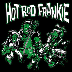 "Hot Rod Frankie - Band 4x4"" Color Patch"