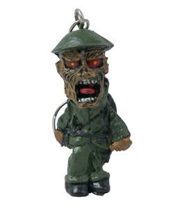 Iron Maiden - Eddie Soldier Keychain