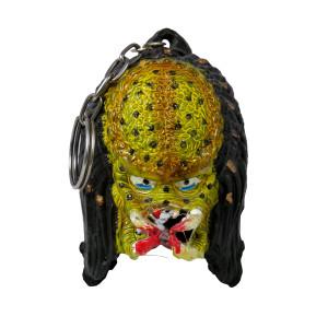 Predator Head Keychain