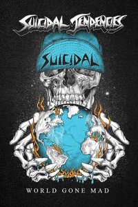 """Suicidal Tendencies - World Gone Mad Backpatch 12x18"""""""