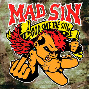 "Mad Sin - God Save The Sin 4x4"" Color Patch"