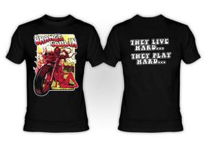 Orange Goblin - They Live Hard They Play Hard T-Shirt