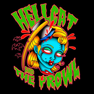 """Hellcat And The Prowl - Demo 4x4"""" Color Patch"""