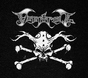 "Finntroll Crossbones 4x4"" Printed Patch"