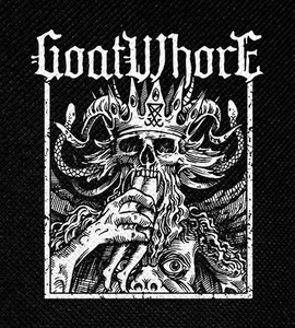 "Goatwhore Demon King 4x4.5"" Printed Patch"