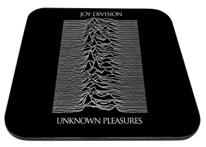 "Joy Division - Unknown Pleasures 9x7"" Mousepad"