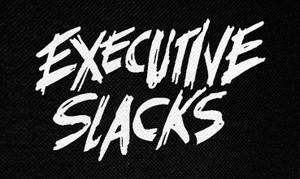 """Executive Slacks Logo 5x3"""" Printed Patch"""