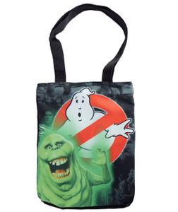 Ghostbusters - Slimer Shoulder Tote Bag