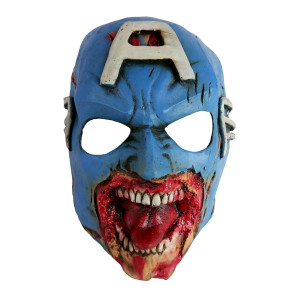 Zombie Captain America Mask