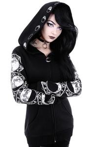Full Moon Black Pagan Hoodie
