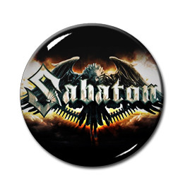 "Sabaton  - The Last Stand 1"" Pin"