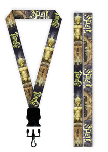 Ghost - Ceremony and Devotion Lanyard