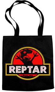 Reptar Jurassic Park Logo Tote Bag