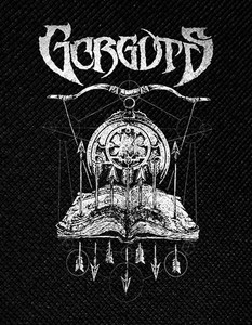 "Gorguts Book of Spells 4x5"" Printed Patch"
