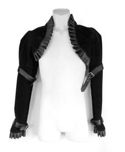 Velvet Victorian Black Bolero Jacket