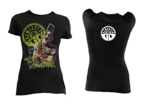 Demented Are Go Insanity Hall Girls T-Shirt