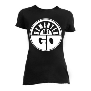 Demented Are Go Logo Girls T-Shirt