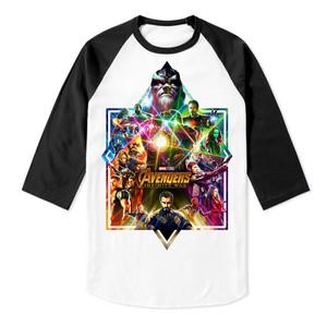 Avengers Infinity War Baseball 3/4 Sleeve T-Shirt