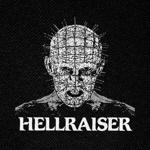 "Hellraiser Pinhead 4x4"" Printed Patch"