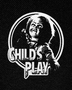 "Child's Play Chucky 4x5"" Printed Patch"