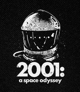 "2001: Space Odyssey 4x5"" Printed Patch"