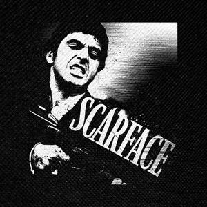 "Scarface Tony Montana 4x4"" Printed Patch"