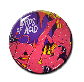 "Lords of Acid - Voodoo U 1"" Pin"