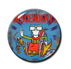 """Descendents - When I get Old 1"""" Pin"""