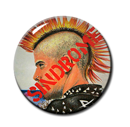 "Sindrome - Sindrome del Punk 1"" Pin"