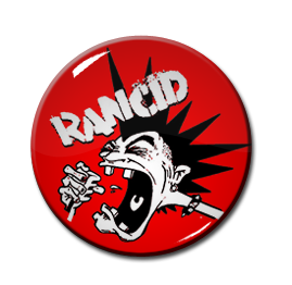 "Rancid - Cartoon Punk 1"" Pin"