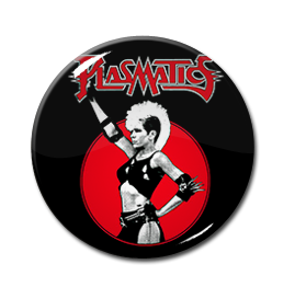 "Plasmatics - The Brainwashed 1"" Pin"