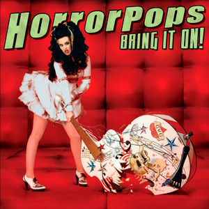 "Horrorpops - Bring It On! 4x4"" Color Patch"