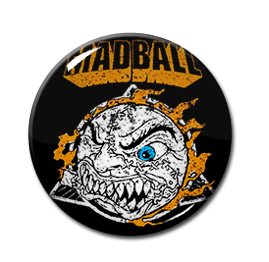 "Mad Ball Ball Logo 1"" Pin"