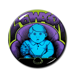 "Lagwagon - Duh 1"" Pin"