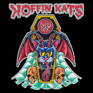 "Koffin Kats - Tattoo 4x4"" Color Patch"
