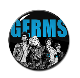"Germs - Germs 1"" Pin"
