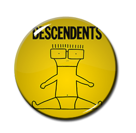 "Descendents - I Don't Wanna Grow Up 1"" Pin"