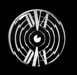 """Clock DVA - Spiral 1.5"""" Pin"""