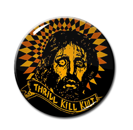"Thrill Kill Kult - Bruced Christ 1.5"" Pin"