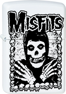 Misfits Ghoul White Lighter