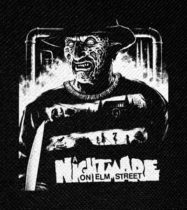 "A Nightmare on Elm Street 4x5"" Printed Patch"