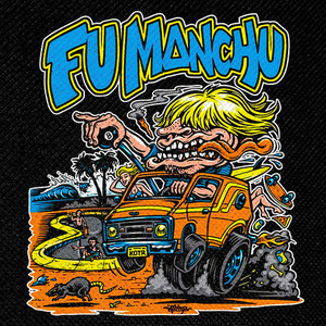 "Fu Manchu - King of Van 4x4"" Color Patch"