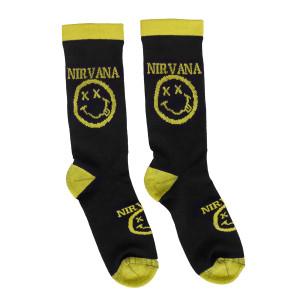 Nirvana Smiley Socks