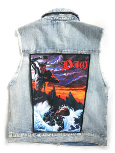 "DIO Holy Diver  13.5"" x 10.5"" Color Backpatch"