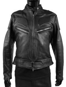 Women's Speed Leather Biker Jacket